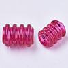 Transparent Acrylic European BeadsX-TACR-T015-031-2