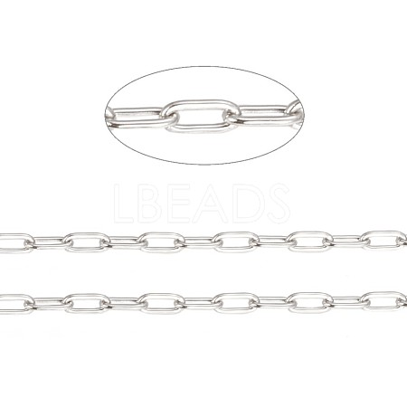 Vacuum Plating 304 Stainless Steel Cable Chains CHS-F010-01A-P-01-1