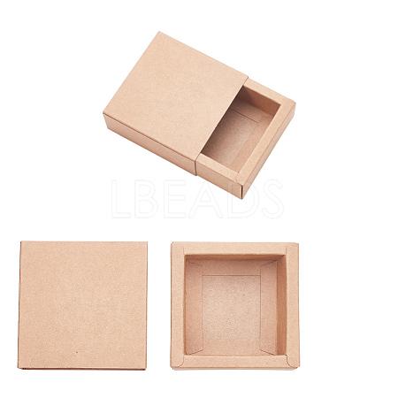 Kraft Paper Drawer BoxCON-YW0001-03A-A-1