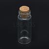 Glass Jar Glass Bottles Bead ContainersAJEW-R068-22x80-04-3