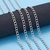 304 Stainless Steel Curb ChainsX-CHS-F006-04A-P-5