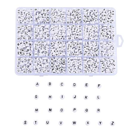 Opaque Acrylic BeadsSACR-X0015-11-1