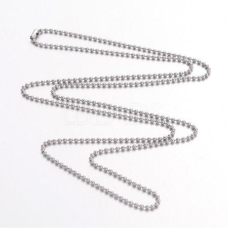 Stainless Steel Necklace Making IFIN-R114-1.5mm-1