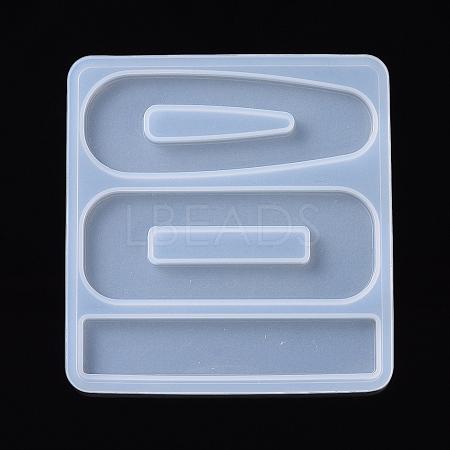 Hair Clip Silicone MoldsDIY-I026-03-1