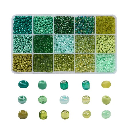 Glass Seed BeadsSEED-JQ0001-01D-4mm-1