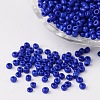 8/0 Opaque Colours Round Glass Seed BeadsX-SEED-A010-3mm-48-1