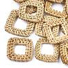 Handmade Reed Cane/Rattan Woven Linking RingsX-WOVE-T005-21A-1