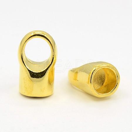Brass Cord EndsKK-19X12-G-1