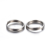 304 Stainless Steel Split Rings STAS-P223-22P-02-2