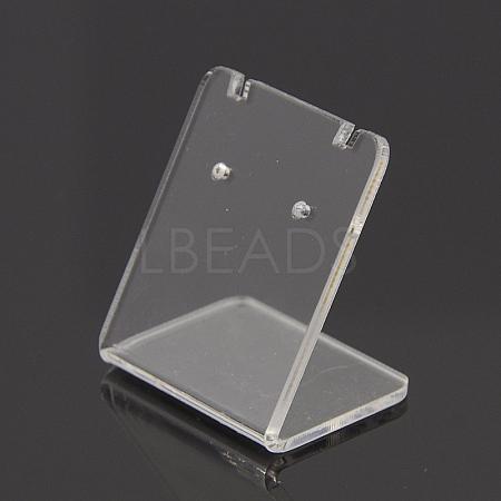 Organic Glass Earring DisplaysX-EDIS-N001-03A-1