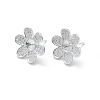 925 Sterling Silver Stud Earring Findings STER-L055-017P-1